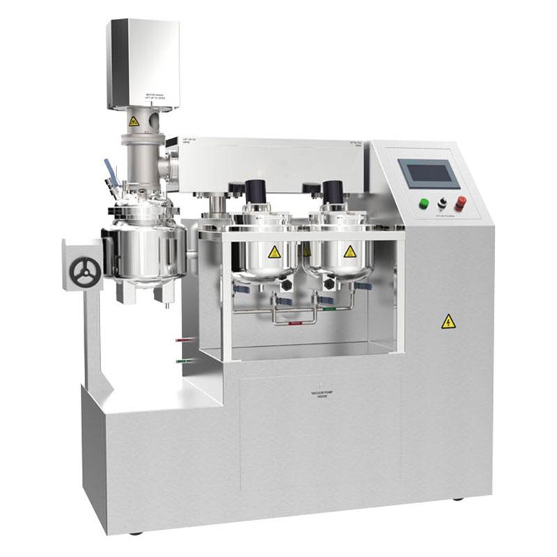 ZJR-10 lab. cream vacuum homogenizer mixer