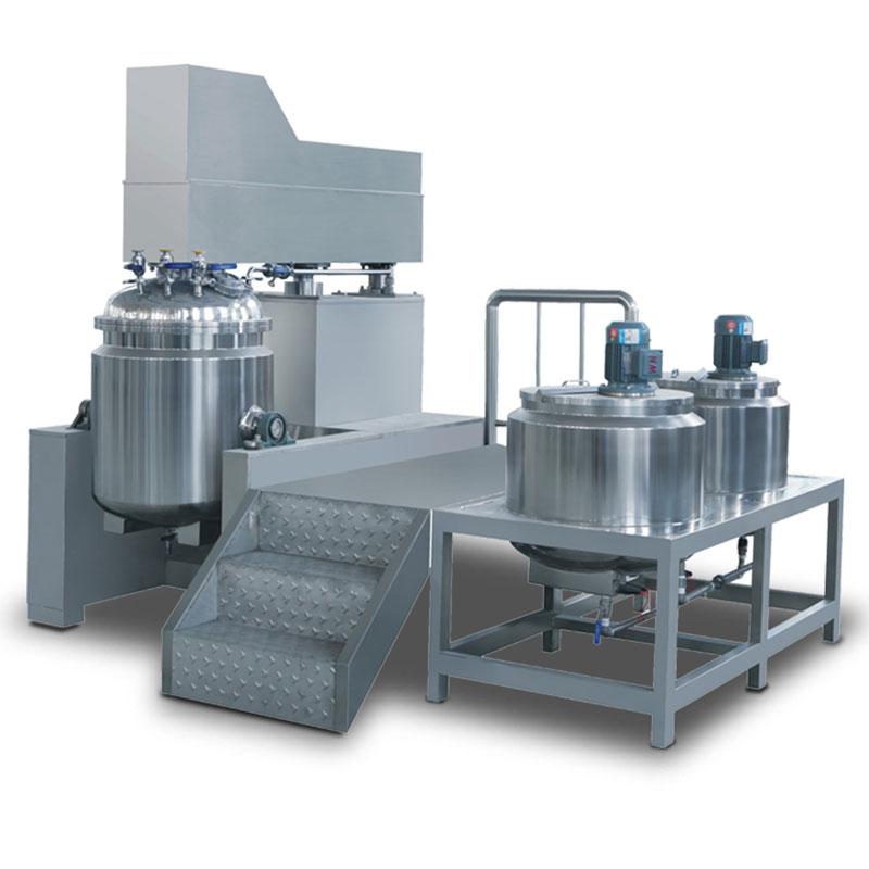 Disinfectant gel mixer