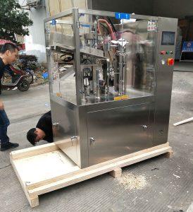 SGF-50 auto plastic tube filling sealing machine