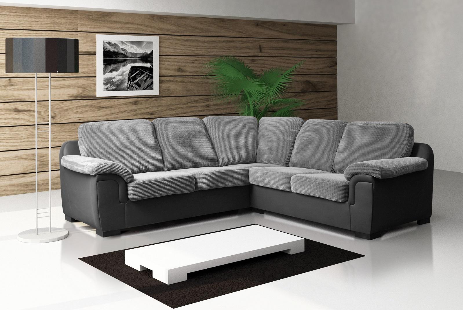 amy fabric corner sofa 2c2