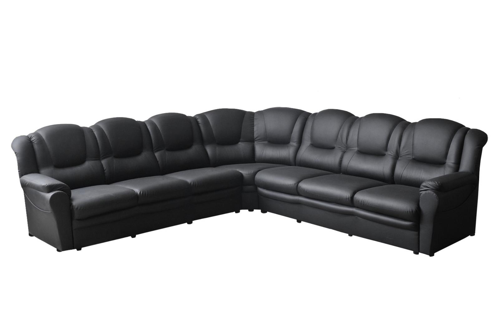 texas faux leather corner sofa 3cr3