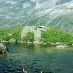 Düssi Seeli in 2000 m Höhe