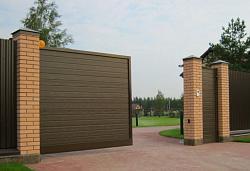 Ворота Откатные деревянные цена с установкой и монтаж под ...