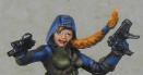 Detailsansicht von Uxias Gesicht (soweit die Kamera es auffangen konnte)