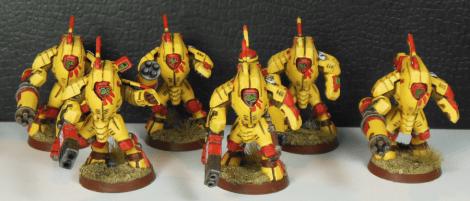 XV25-Team mit zwei Fusionsblastern