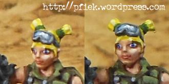 Foxtrott Sniper - Gesicht Closeup
