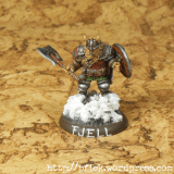 Fjell Warrior Leader - Front2