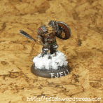 Fjell Warrior Leader - Seite/Front