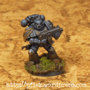 Space Marines Farbtest (überarbeitet)