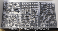 Stormclaw - Space Wolves Gussrahmen 1 / Space Wolves sprue 1