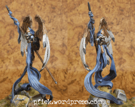 Diorama - Winged Harbinger of Mennoth - Figur, Seiten