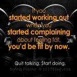 Quit talking More doing. copy