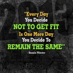 Decide to get fit today
