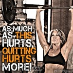 quitting hurts more