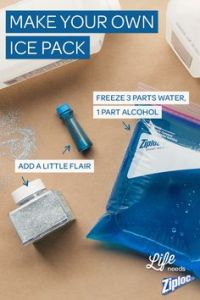 DIY Ice pack