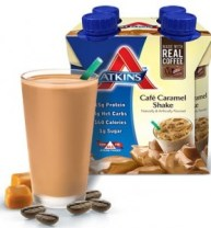 atkins caramel cafe shake