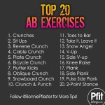 Top 20 Ab Exercises
