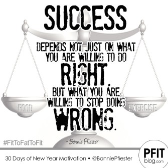 success - right vs wrong