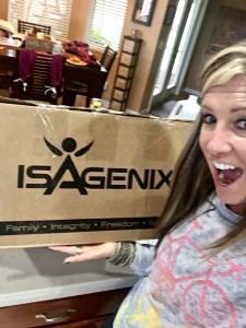 Isagenix box