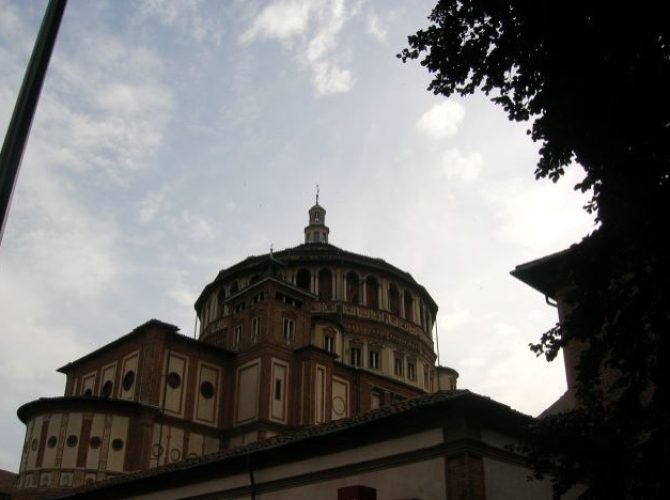 Visiting the Last Supper in Milan 1