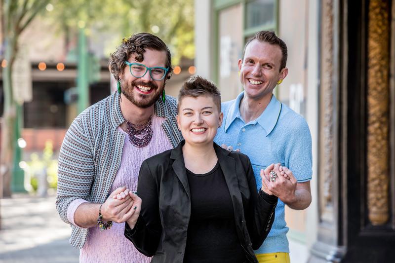 Transgender, genderqueer friends