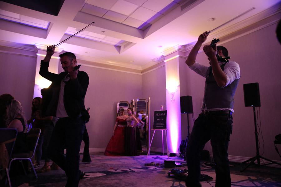 Synergy Twins at PFLAG Spartanburg's Rainbow Ball