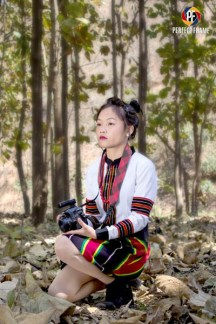 Model: Vungbiaksang | with Paite Traditional Dress