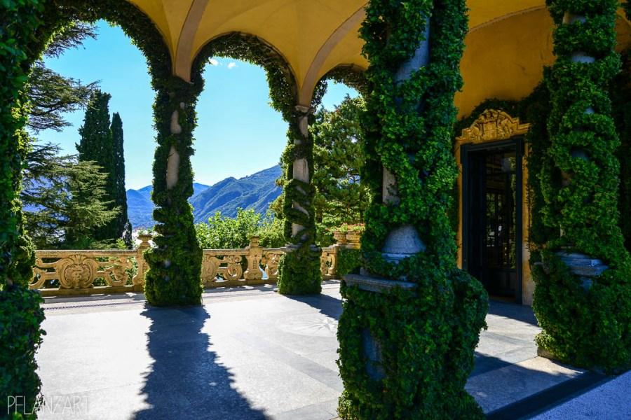 Garten der Villa Balbianello am Comer See
