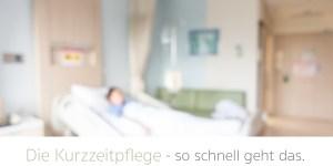 Kurzzeitpflege im Altersheim oder Pflegeheim pflegediens