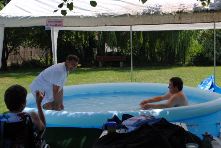Unser eigener Pool