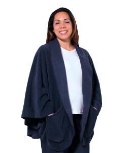*BellaT* Fleece Jacke mit Taschen