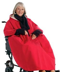 *RollyT* Winter Rollstuhlponcho Allwetter-Cape