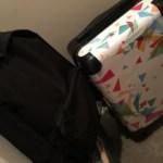 Perfume suitcase リュック