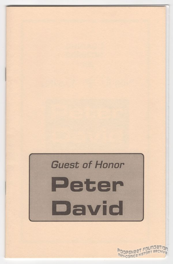 Cover of the 1995 Guest of Honor booklet.