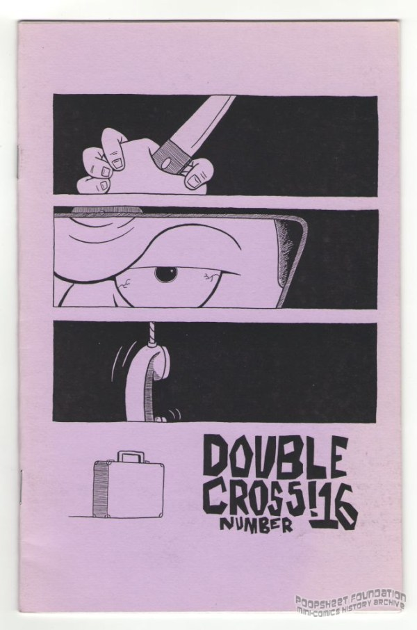 Double Cross #16 cover by Tony Consiglio