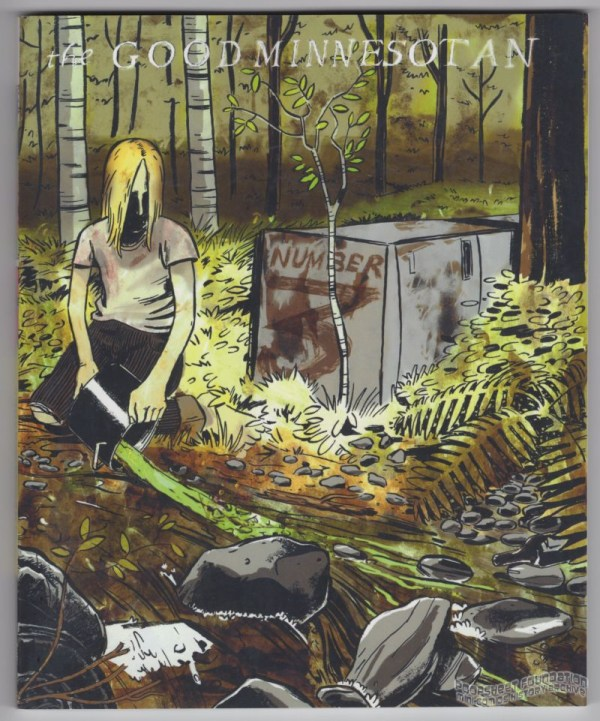 Good Minnesotan #3 cover by Nicholas Breutzman.
