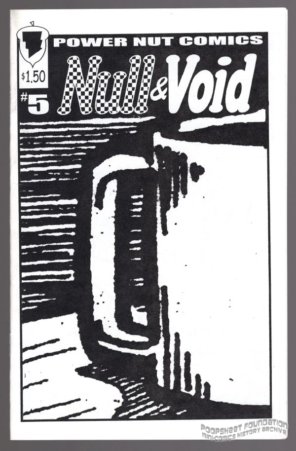 Front cover for Null & Void #5