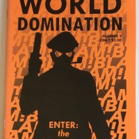 1000 STEPS TO WORLD DOMINATION #3 small press comic ROB OSBORNE mini-comic 2003