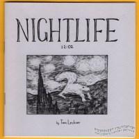 NIGHTLIFE 12:02 dream comics TOM LECHNER small press minicomic 2011