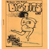 SECOND LITTLE BOOK OF BIG TITS underground comix CLAY GEERDES jogging