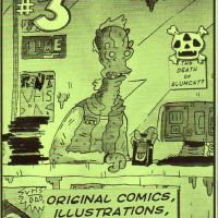 Bearqueft Comix #3 by Charlie Haggard and various artists