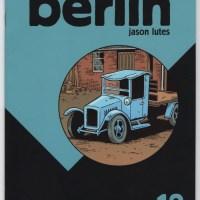 BERLIN #12 alternative comics JASON LUTES Drawn & Quarterly indie comix D&Q 2005