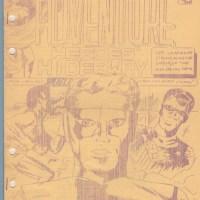 ADVENTURE HEROES' HIDE-A-WAY #6 comic club fanzine JUSTICE SOCIETY Buccafusco 1965