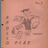 APOLLO PLAY #2 sf humor fanzine VIRGIL PARTCH Ray Schaffer ELLINGTON Jeeves 1957