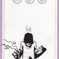 SLOP underground comix DAVE CROSLAND self-published small press indie zine 2002