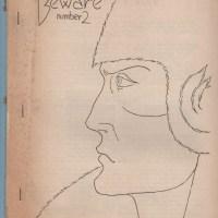 BEWARE #2 sf fanzine KEN BEALE Henry Chabot DAVID STONE science fiction 1951