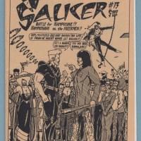 CAPTAIN SAUCER #13 minicomix DOUG HOLVERSON underground comix mini-comic 1985