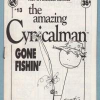 CYNICALMAN #13 mini-comic MATT FEAZELL small press comic minicomic zine 1988 1st
