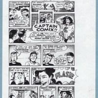 "COMIC RELIEF Berkeley FLYER by ERIC JONES Rory Root's comic store 5½ x 8½"" 1995"