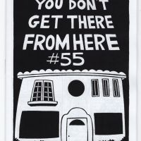 In the mailbox: YOU DON'T GET THERE FROM HERE #55 by Carrie McNinch
